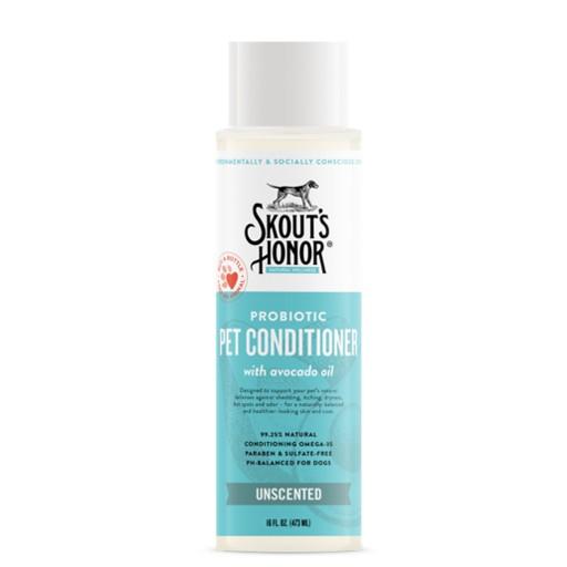 Skout's Honor Skout's Honor Probiotic Pet Conditioner Unscented 16oz