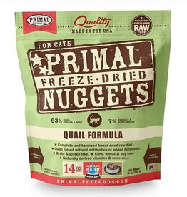 Primal Freeze Dried Feline Quail 14oz