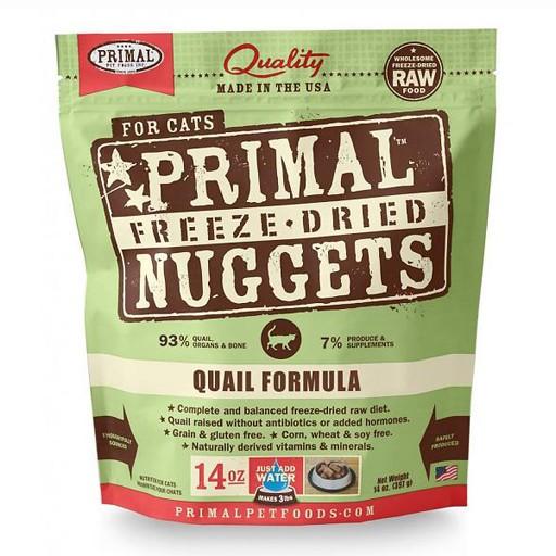 Primal Freeze Dried Feline Quail 14oz