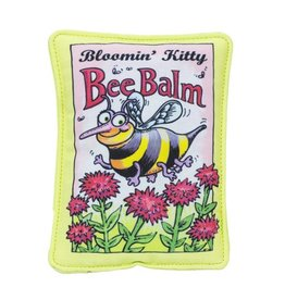 Fuzzu Fuzzu Bloomin' Kitty Bee Balm Seed Packet Cat Toy