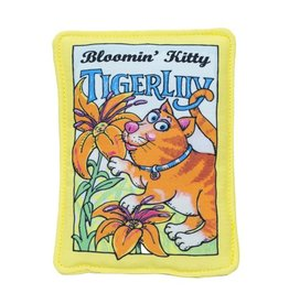 Fuzzu Fuzzu Bloomin' Kitty Tiger Lilly Seed Packet Cat Toy