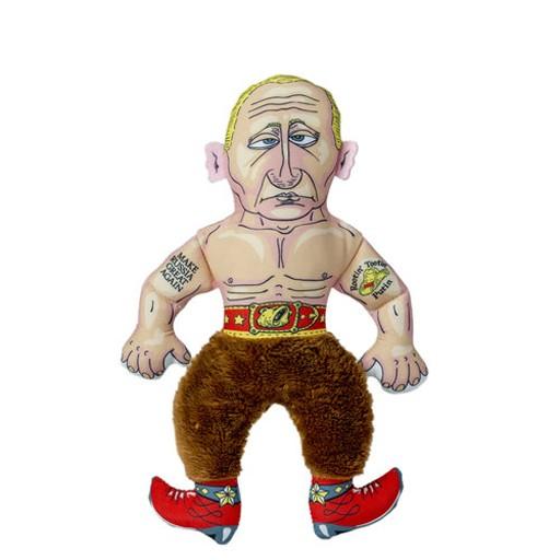 Fuzzu Fuzzu Presidential Parody Rootin' Tootin' Putin Cat Toy