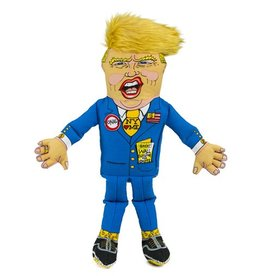 Fuzzu Fuzzu Presidential Parody Donald Dog Toy