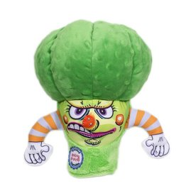 Fuzzu Fuzzu Steamed Vegetables Boiling Broccoli Dog Toy