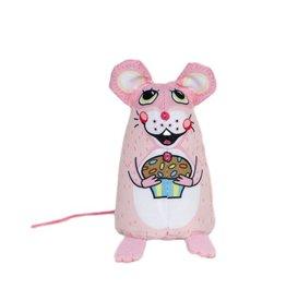 Fuzzu Fuzzu Sweet Baby Mice Cupcake Mouse Cat Toy
