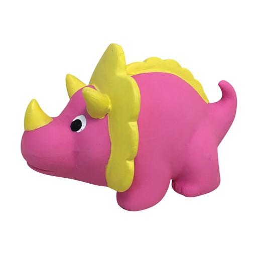 Fou Fou Dog Fou Fou Fit Latex Dino Triceratops