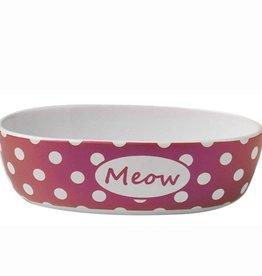 Petrageous Petrageous Bedazzled Meow Berry Shimmer Bowl 2 cups