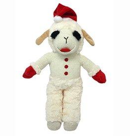 "MultiPet MultiPet Holiday Standing Lamb Chop w/Santa Hat 8"""