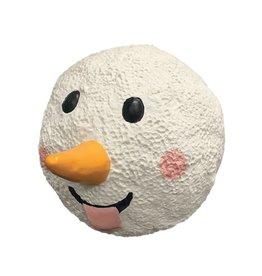 Fou Fou Dog Fou Fou Twinkle Snowball Latex Toy, Smile