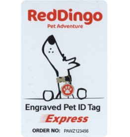 Red Dingo Red Dingo Tag Express Card