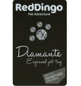 Red Dingo Red Dingo Tag Swarovsk Express Card