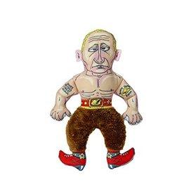 Fuzzu Fuzzu Presidential Parody Rootin' Tootin' Putin Dog Toy