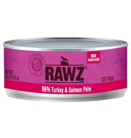 Rawz Cat Can Turkey & Salmon 5.5oz