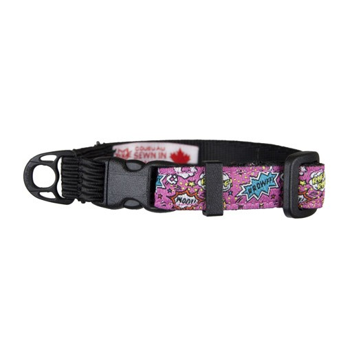 RC Pet RC Pet Kitty Clip Collar Pink Comic Sounds
