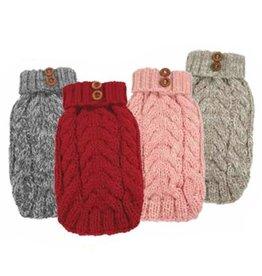 Fou Fou Dog Fou Fou Dog Hand-Knit Cityscape Sweater