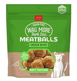 Cloud Star Cloud Star Wag More Meatballs Chicken Recipe 14oz