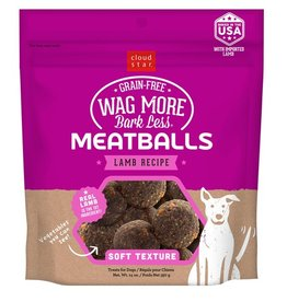 Cloud Star Cloud Star Wag More Meatballs Lamb Recipe 14oz