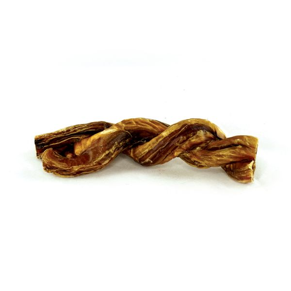 Fou Fou Dog Fou Fou Boucherie Double Braided Beef Pizzle 6in