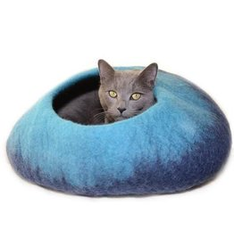 Dharma Dog Karma Cat Dharma Dog Karma Cat Wool Felt Ombre Navy