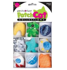 Patchwork Pet Patchwork Pet Patchcat Space Box 9pk
