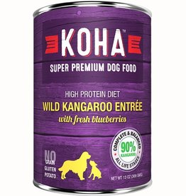 Koha Dog Can 90% Wild Kangaroo Pate 13oz