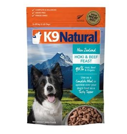 K9 Natural K9 Natural Freeze Dried Beef & Hoki 500g