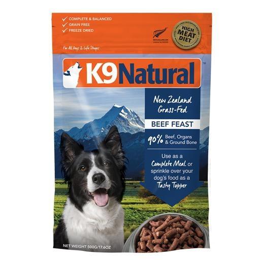 K9 Natural K9 Natural Freeze Dried Beef 500g