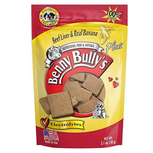 Benny Bully's Beef Liver Plus Banana 58g