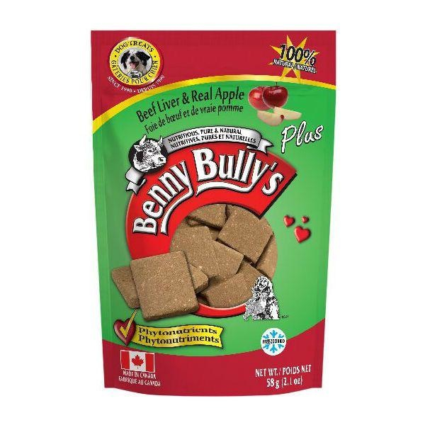 Benny Bully's Beef Liver Plus Apple 58g
