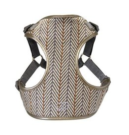Pretty Paw Designer Harness Verona Herringbone