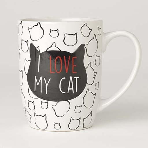 Petrageous Petrageous I Love My Cat Mug 24oz