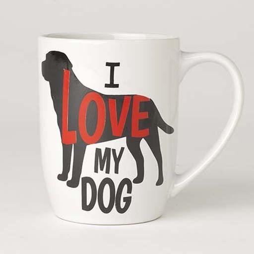 Petrageous Petrageous I Love My Dog Mug 24oz