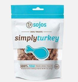 Sojos Sojos Simply Turkey Freeze Dried Treats 4oz
