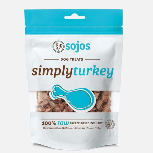 Sojos Sojos Simply Turkey Freeze Dried Treats 4oz