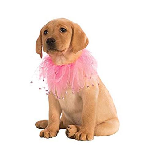 Rubies Rubies Pet Fancy Pink Collar S/M