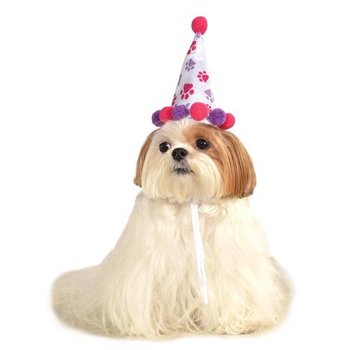Rubies Rubies Paw Print Birthday Hat Girl M/L