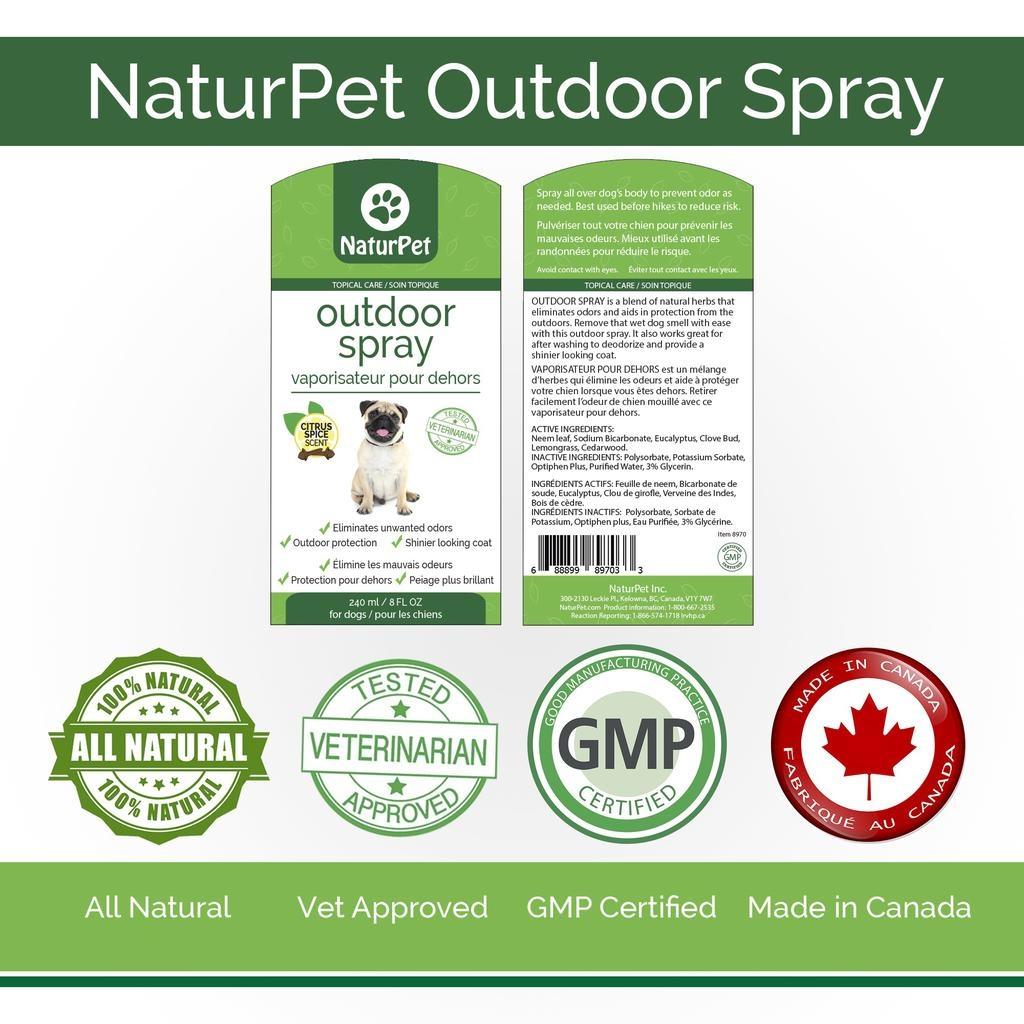 NaturPet Outdoor Spray 240ml