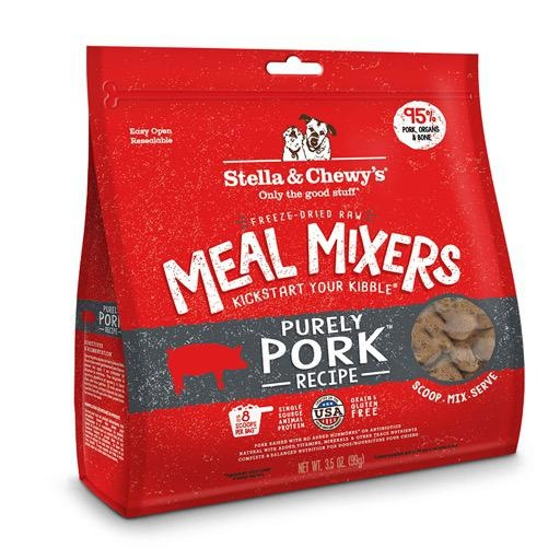 Stella & Chewy's Stella & Chewy's Freeze Dried Meal Mixers Purely Pork 18oz
