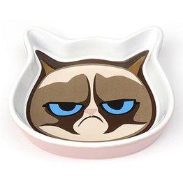 """Petrageous Petrageous Grumpy Cat Face Saucer Pink5"""""""
