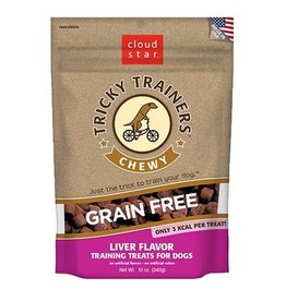 Cloud Star Cloud Star Tricky Trainers Chewy Treats Liver 5oz