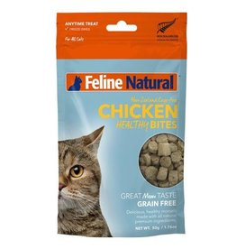 K9 Natural K9 Feline Natural Freeze Dried Healthy Natural Chicken Bites 50g