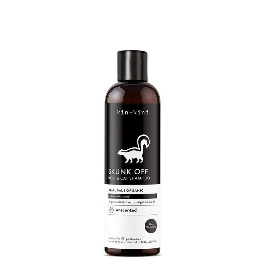 Kin + Kind Kin + Kind: Kin Organics Skunk Off Cat & Dog Shampoo 12oz