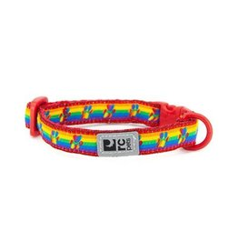 RC Pet RC Pet Kitty Breakaway Collar Rainbow Paws