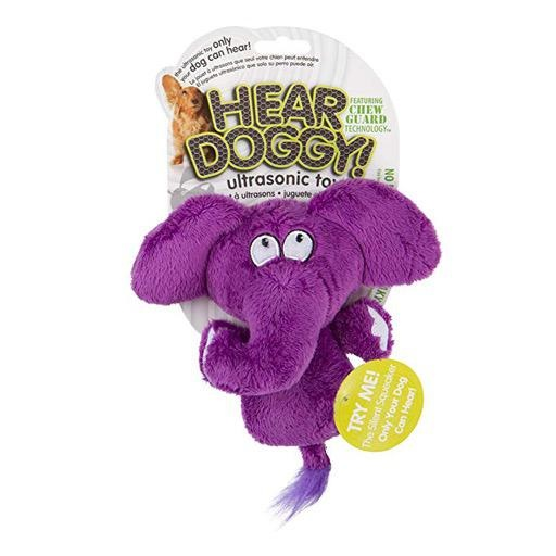 Go Dog Hear Doggy Flattie Elephant Mini