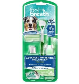Tropiclean Tropiclean Fresh Breath Advanced Whitening Oral Care Kit Small Dogs 2oz