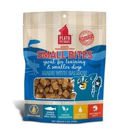 Plato Pet Treats Small Bites Salmon 2.5oz