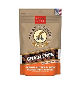 Cloud Star Cloud Star Tricky Trainers Chewy Treats Peanut Butter 5oz