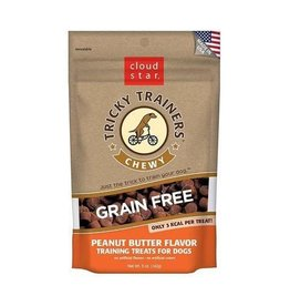 Cloud Star Cloud Star Tricky Trainers Chewy Treats Peanut Butter 12oz