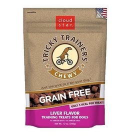 Cloud Star Cloud Star Tricky Trainers Chewy Treats Liver 12oz