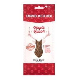 This & That Enhanced Antler Chews Maple Bacon Medium